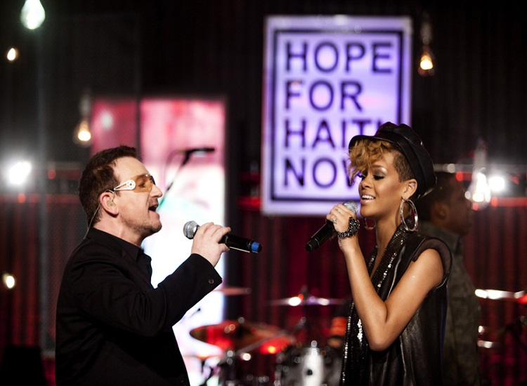 'Hope for Haiti Now' to Top Album Chart